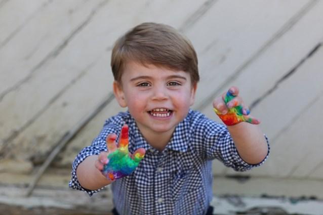 Britse prins Louis (2) heeft een idool