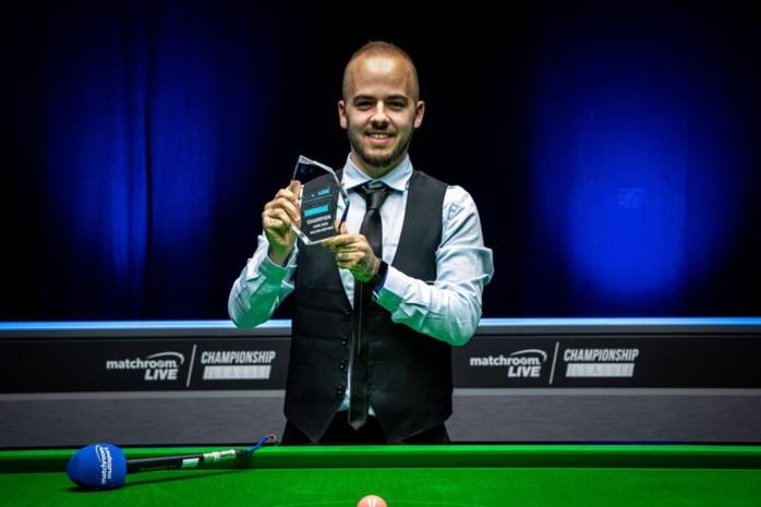 Luca Brecel verdiende al 972.453 euro in zijn carrière, op het WK kan hij de 51ste snookermiljonair worden