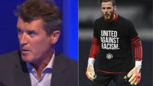 """Voetballegende Roy Keane haalt de hakbijl boven na flater van David De Gea: """"Ik walg hiervan"""""""