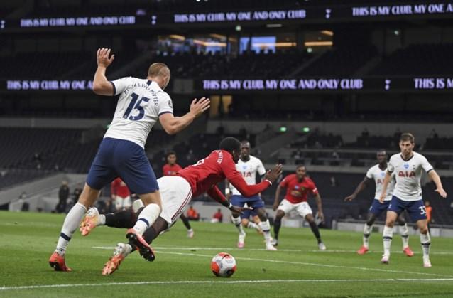 Tottenham heeft geen Belgen nodig,  maar wint ook niet van Man United