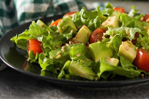 Recept voor barbecue: avocadosalade