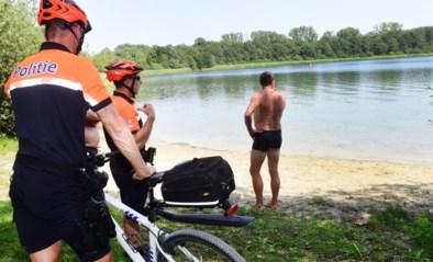 Hittegolf of niet, politiezones plannen extra controles op wildzwemmers