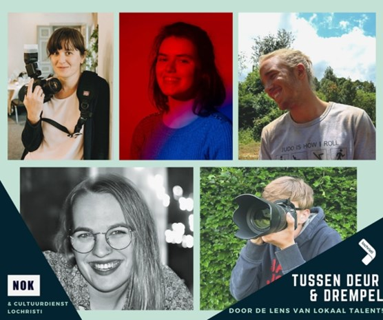 Vijf lokale fotografen staan klaar 'tussen uw deur en drempel'