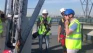 Bart De Wever klimt tot 140 meter voor reddingsoefening