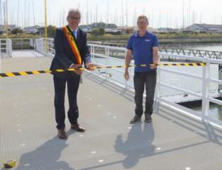 Nieuw ponton voor boten Seastar, die binnenkort weer mogen uitvaren
