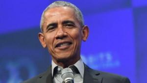 Obama geeft inzameling voor Biden duw in de rug