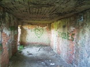 """Oorlogsbunker besmeurd met graffiti: """"Van historisch erfgoed moet je met je <I>pollen </I>afblijven"""""""