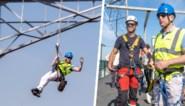 """Brandweer 'redt' Bart De Wever uit 140 meter hoge hoogspanningsmast in haven: """"Dit was toch redelijk bangelijk"""""""