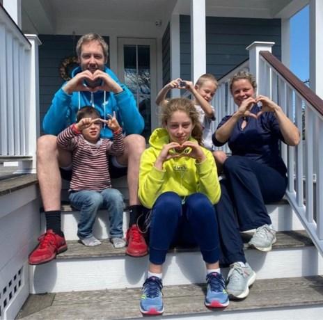 Kim Clijsters verhuist met haar familie naar de Verenigde Staten, al zeker voor twee jaar