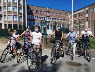 """Met 28 fietsende leerkrachten is deze school de kampioen van de Ik-fiets-naar-het-werk-dag: """"We hebben samen 517 kilometer afgelegd"""""""