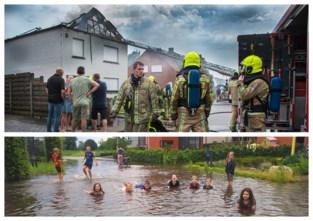 Kort onweer zorgt in Kempen voor ellende (en een beetje waterpret)