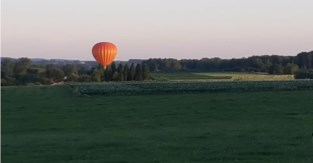 Luchtballon maakt noodlanding