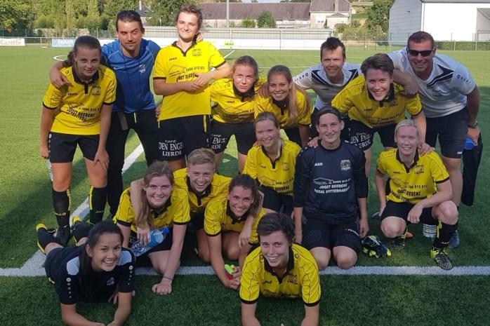 Nationale voetbaltrots Tessa Wullaert traint damesploeg
