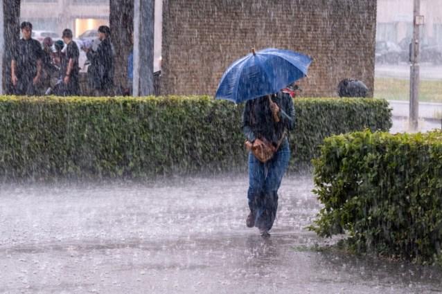 West-Vlaanderen heft captatieverbod tijdelijk op na felle regenbuien