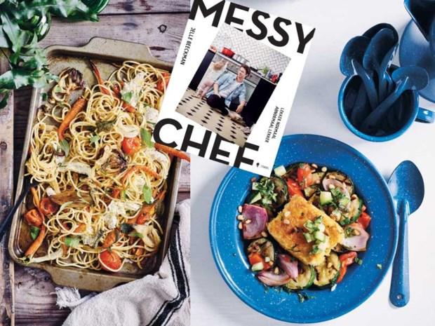 The Messy Chef: van grootmoeders keuken tot trendy veganistisch, met zo weinig mogelijk afwas bij elke bereiding