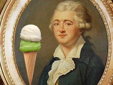 Als u straks aan uw ijsje likt, denk dan eens aan deze man