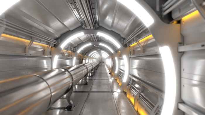Een tunnel van 100 km om minuscule Higgsdeeltjes te bestuderen