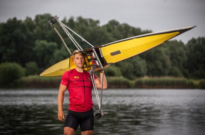 Ward Lemmelijn, de ex-voetballer die tegen de stroom in de roeihemel bestormt