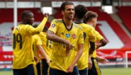 Arsenal plaatst zich na late goal voor halve finale van de FA Cup, Sheffield-doelman treft de lat