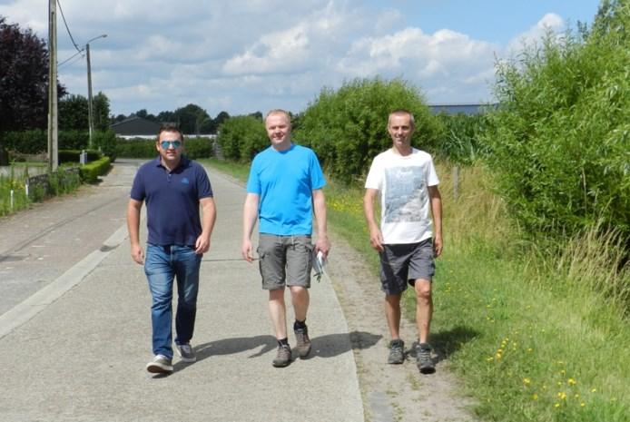 Duo wandelt in vier dagen rond de Kempen als alternatief voor afgelaste Dodentocht