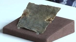 Gallo-Romeins Museum presenteert uniek Romeins vervloekingsplaatje