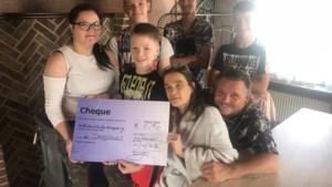 Kroostrijk gezin Davidsons uit 'Don't worry be happy' in één klap 6.190 euro rijker