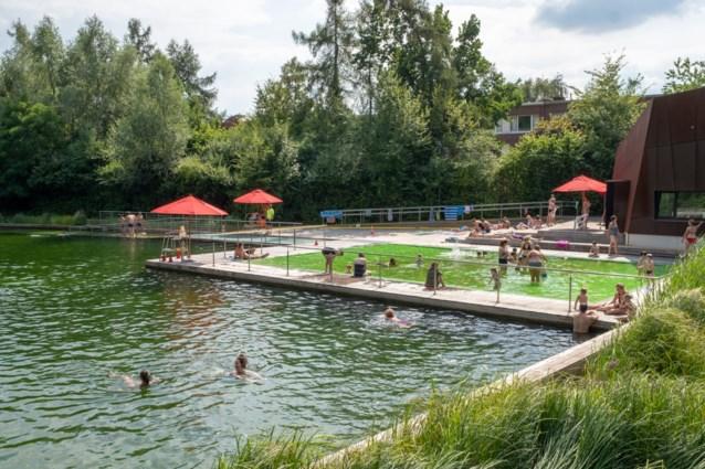 Maximum zestig zwemmers in Boekenberg