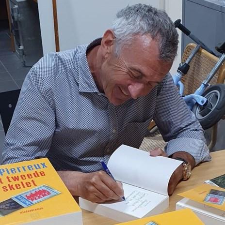 Schrijver Jos Pierreux blijft in 'Het tweede skelet' trouw aan speurder Luk Borré
