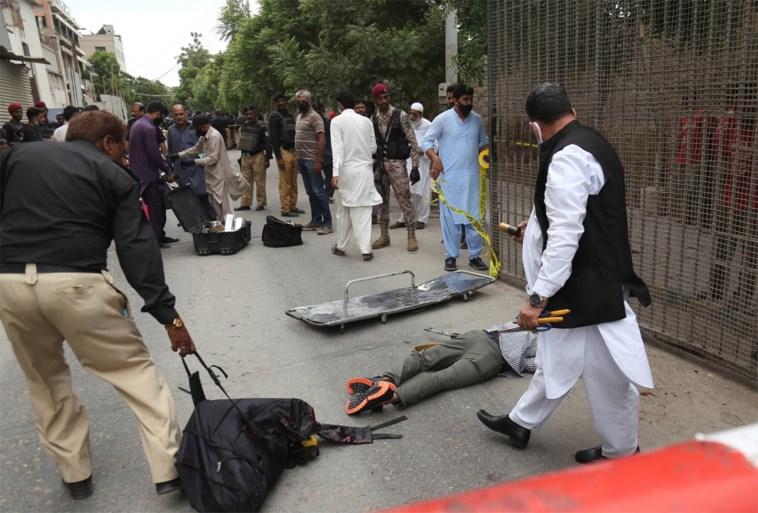Archers attack Pakistan stock exchange: six dead