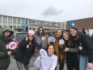 Leerlingen winnen prijs door foert te zeggen tegen roken