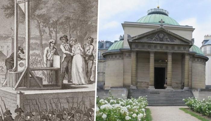 De kapel met een macaber mysterie: werden de vreemde muren gebouwd met botten van guillotineslachtoffers?