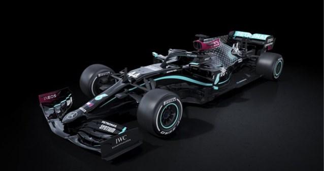 Mercedes vervangt Zilverpijl door zwarte auto in Formule 1 als protest tegen racisme