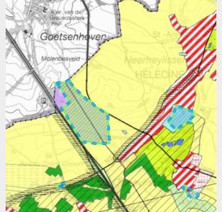 Bedrijvenzone op grens Goetsenhoven krijgt (stilzwijgend) groen licht
