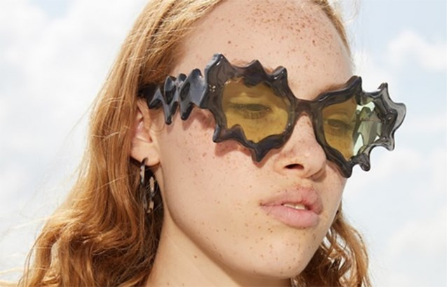 Antwerpse modestudenten maken brillen voor Komono