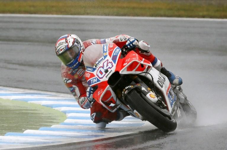 Andrea Dovizioso breekt sleutelbeen, maar start in eerste MotoGP-race van het seizoen
