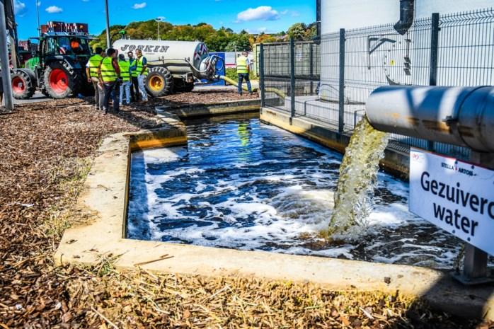 Landbouwers mogen velden sproeien met gezuiverd afvalwater van Stella Artois en Hoegaarden