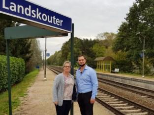 Er stoppen weer weekendtreinen in Landskouter en Balegem-Zuid