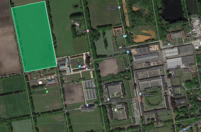 Gemeente stelt kampterrein ter beschikking in Merksplas-Kolonie