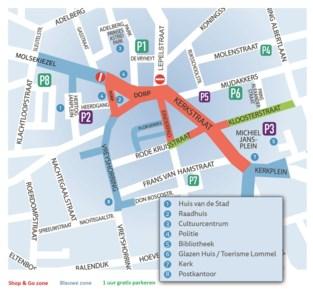 Nieuw parkeerbeleid in het centrum van Lommel