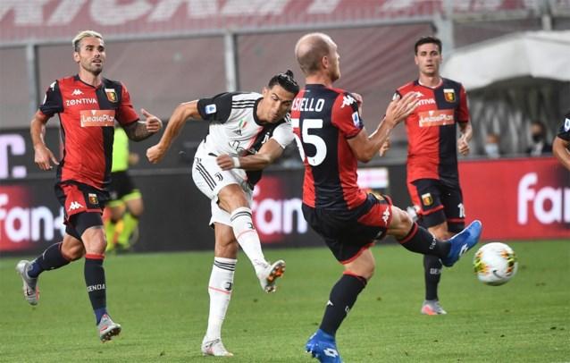 Cristiano Ronaldo scoort met verwoestende uithaal, maar zorgt niet eens voor de mooiste Juventus-goal van de avond