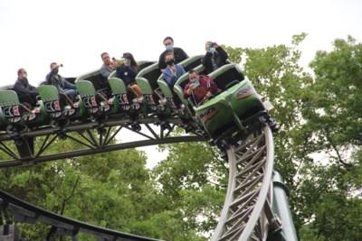 Nieuwe attractie kan tot 1.000 man per uur aan, maar Bellewaerde beperkt bezoekers op openingsdag tot 1.000 voor heel het park