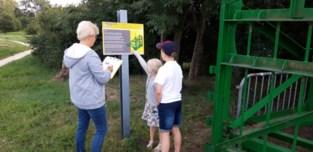 In Haacht wandelen kleinkinderen met hun grootouders