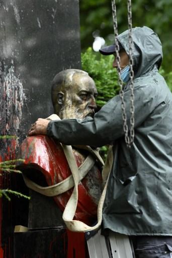 Standbeeld van Leopold II weggehaald in Gent