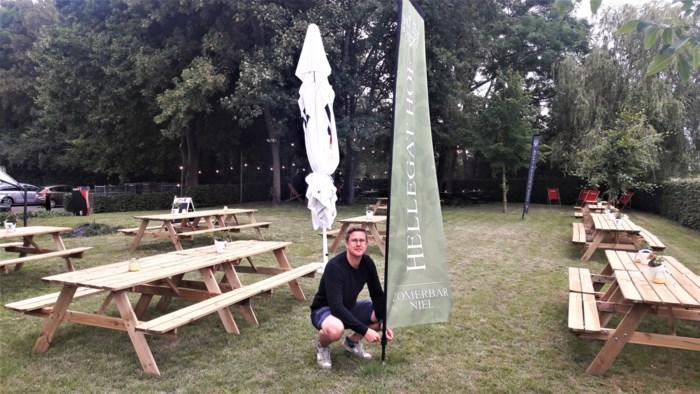 Tuin Pegode verandert in Hellegat Hof, een zomerbar met sociale insteek