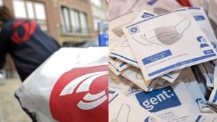 Gentenaars blijven wachten op mondmasker en filters: Stad en Bpost ruziën over schuld