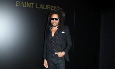 Lenny Kravitz is het nieuwe gezicht van Saint Laurent