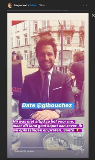 """Conner Rousseau (SP.A) """"op date"""" met Georges-Louis Bouchez (MR): """"Hij was niet altijd zo lief voor me"""""""