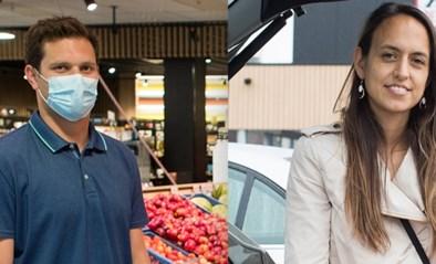 Wij gingen winkelen in Deinze: zonder mondmasker binnen, aan de draaideur al van gedachte veranderd