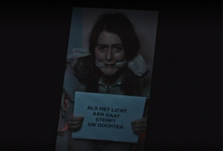 Eén lost eerste beelden van pikdonkere reeks 'Blackout' met Geert Van Rampelberg en Sara De Roo