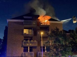 Bewoner opgepakt na brand in woonblok
